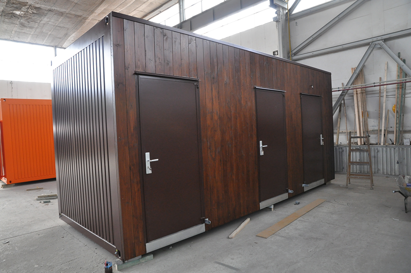 Bcs containersystem sanit rcontainer for Holz wohncontainer