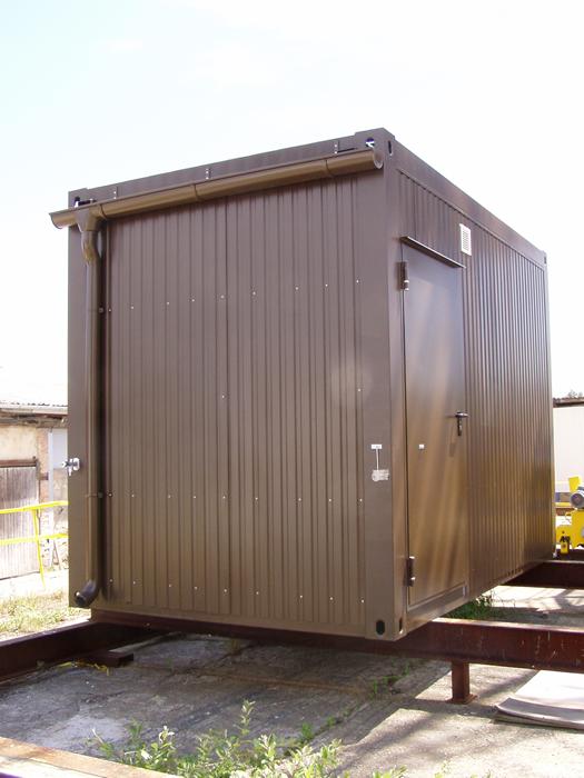 bcs containersystem messcontainer e haus steuerhaus. Black Bedroom Furniture Sets. Home Design Ideas
